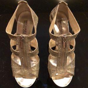 MICHAEL KORS Berkley T-Strap Dress Heels.